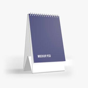 notepad cover mockup model