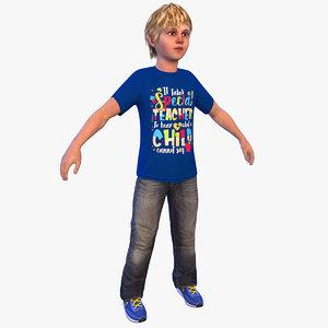 boy 4k 2020 3D model