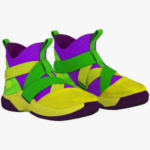 nike lebron soldier xii 3D model