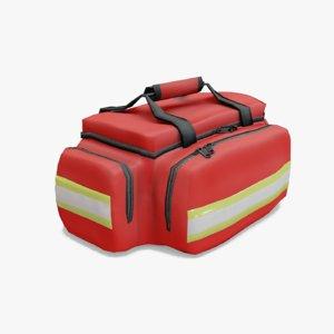 3D paramedical bag model