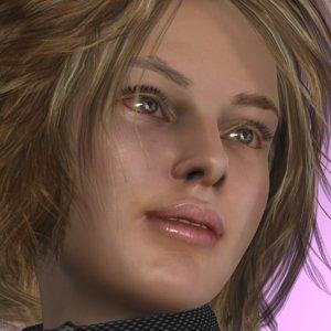 3D model realistic donna cw
