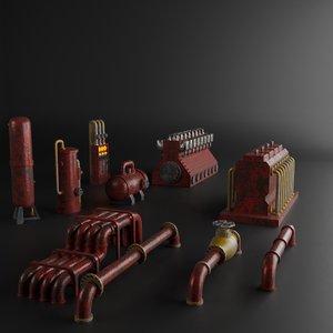 3D factory element
