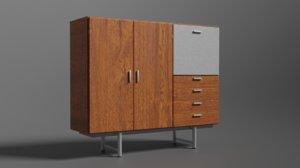 dresser - pastoe braakman 3D