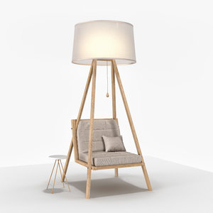 readinglover chair 3D model