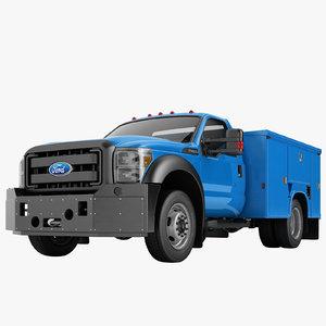 3D f450 enclosed utility model