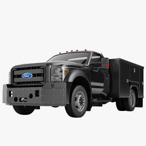 f450 enclosed utility 3D model