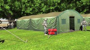 3D tents military