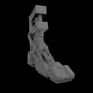 3D prosthesis leg