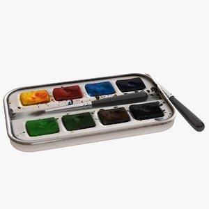 3D paint set