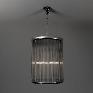 3D model light chandelier lamp