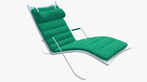 3D model :lounge chair