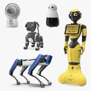 robots 3 bots 3D
