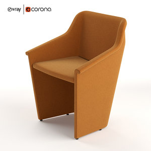cabrio lounge chair 3D