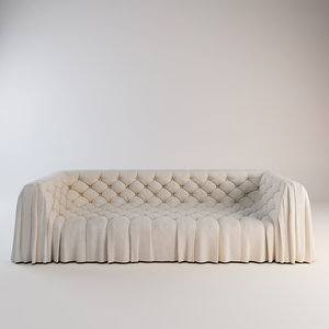 busnelli sofa bohemien 3D model