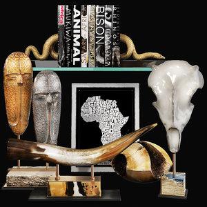 3D decorative set 67 model