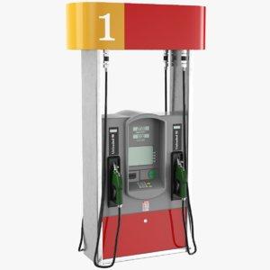 real fuel 3D model