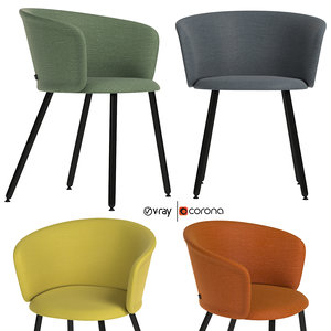 kendo chair 3D model