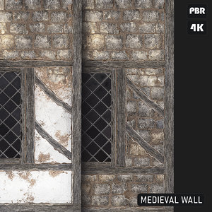 PBR Medieval Wall textures