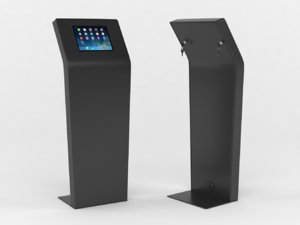 kiosk tablet floor stand 3D