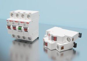3D model circuit breaker