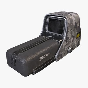 3D ready eotech holographic sight