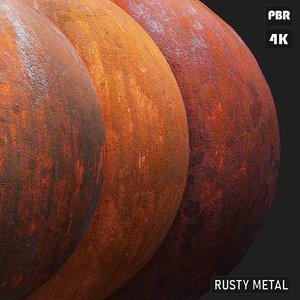 PBR Rusty Metal textures