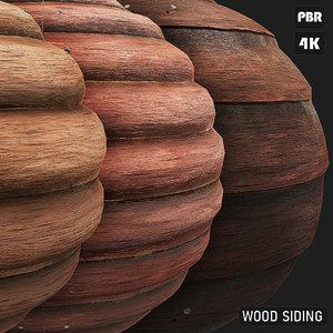 PBR Wood Siding textures