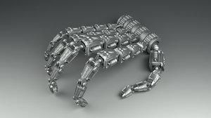 robotic finger model