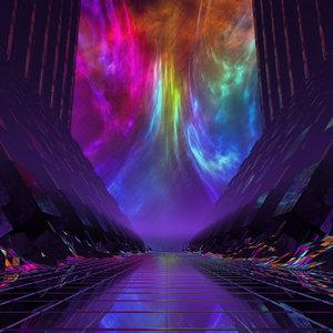 concepts intergalactic observatory 3D model