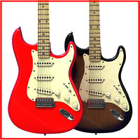 Stratocaster (Red and Vintage)