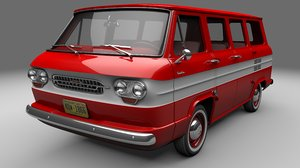 corvair van greenbrier 3D