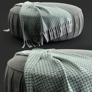 poufs lx649 3D model