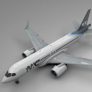 3D nac airbus a220-300 l603