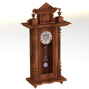clock decor 3D model