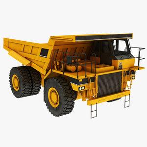 mining truck 3D model