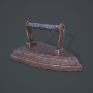 medieval clothes iron model