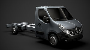3D renault master singlecab sw