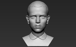 3D stranger things bust printing model
