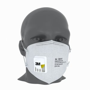 3D protective mask