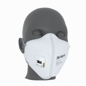 protective mask 3D model