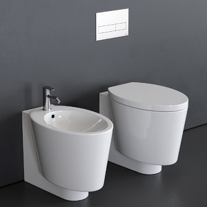3D model wish toilet bidet