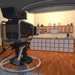 food video 3D model