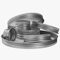 Set of Aluminium Caps
