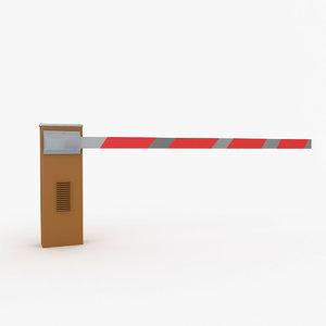 boom gate 3D