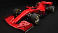 F1 Generic Red Racing 2020