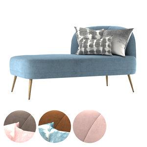 leone sofa 3D model