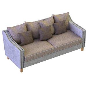 3D sofa furniture seat model