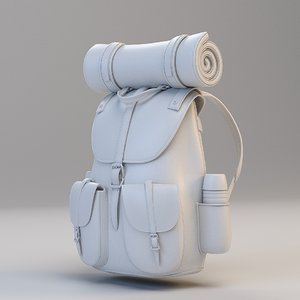 3D traveler backpack