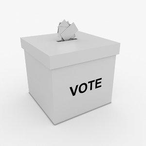vote box model