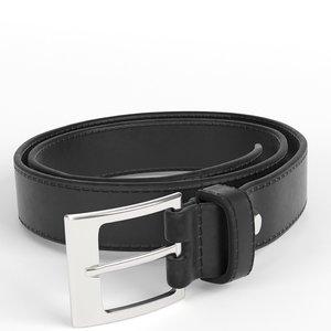 leather belt 3D